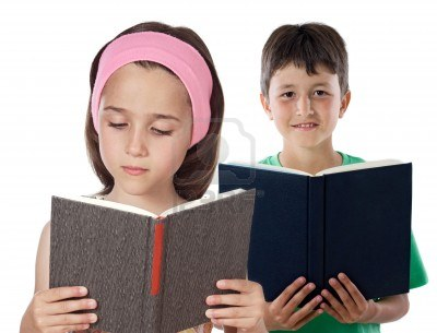 6047878-two-children-reading-on-a-over-white-background.jpg