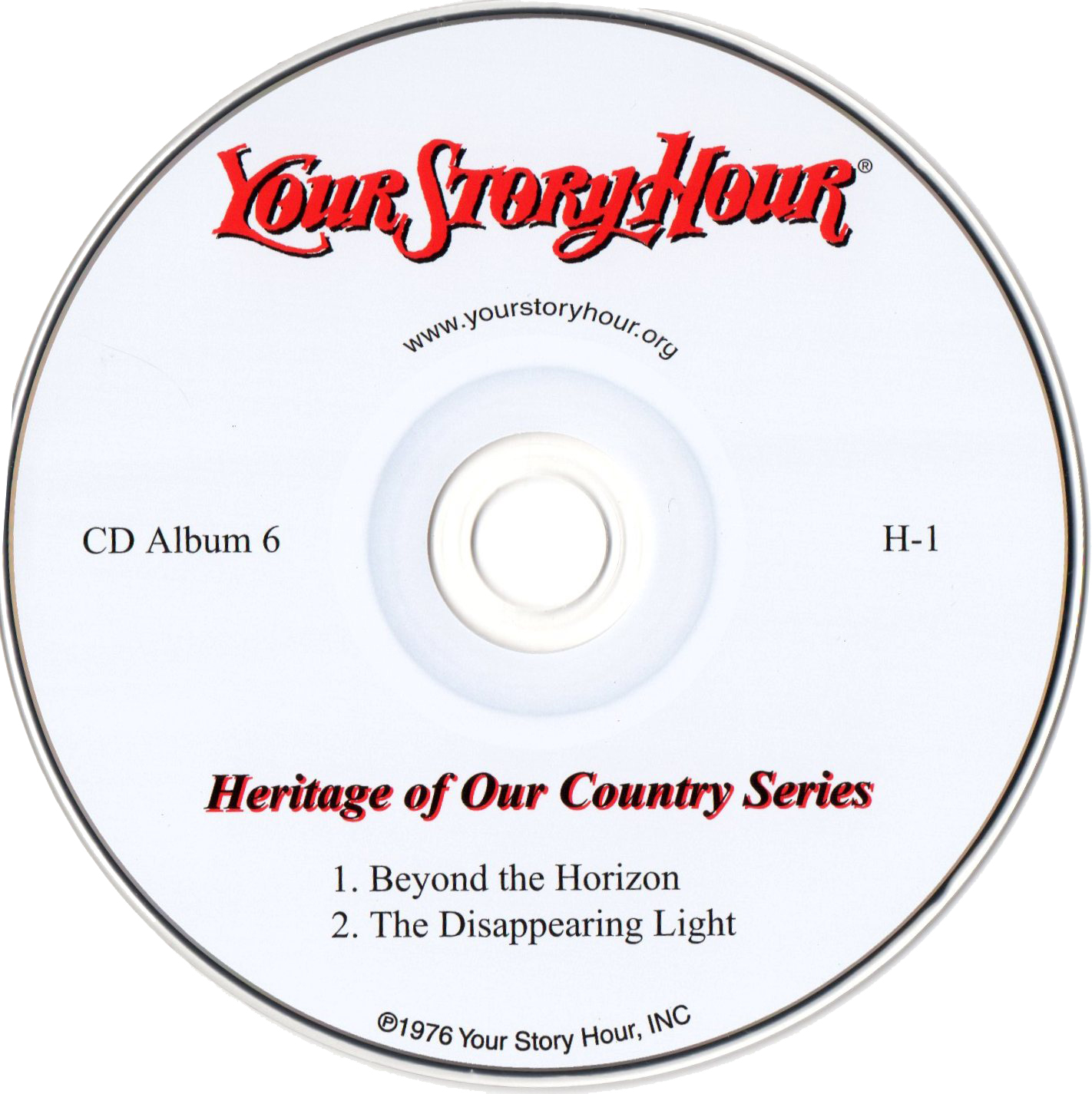 Your Story Hour (H1) CD