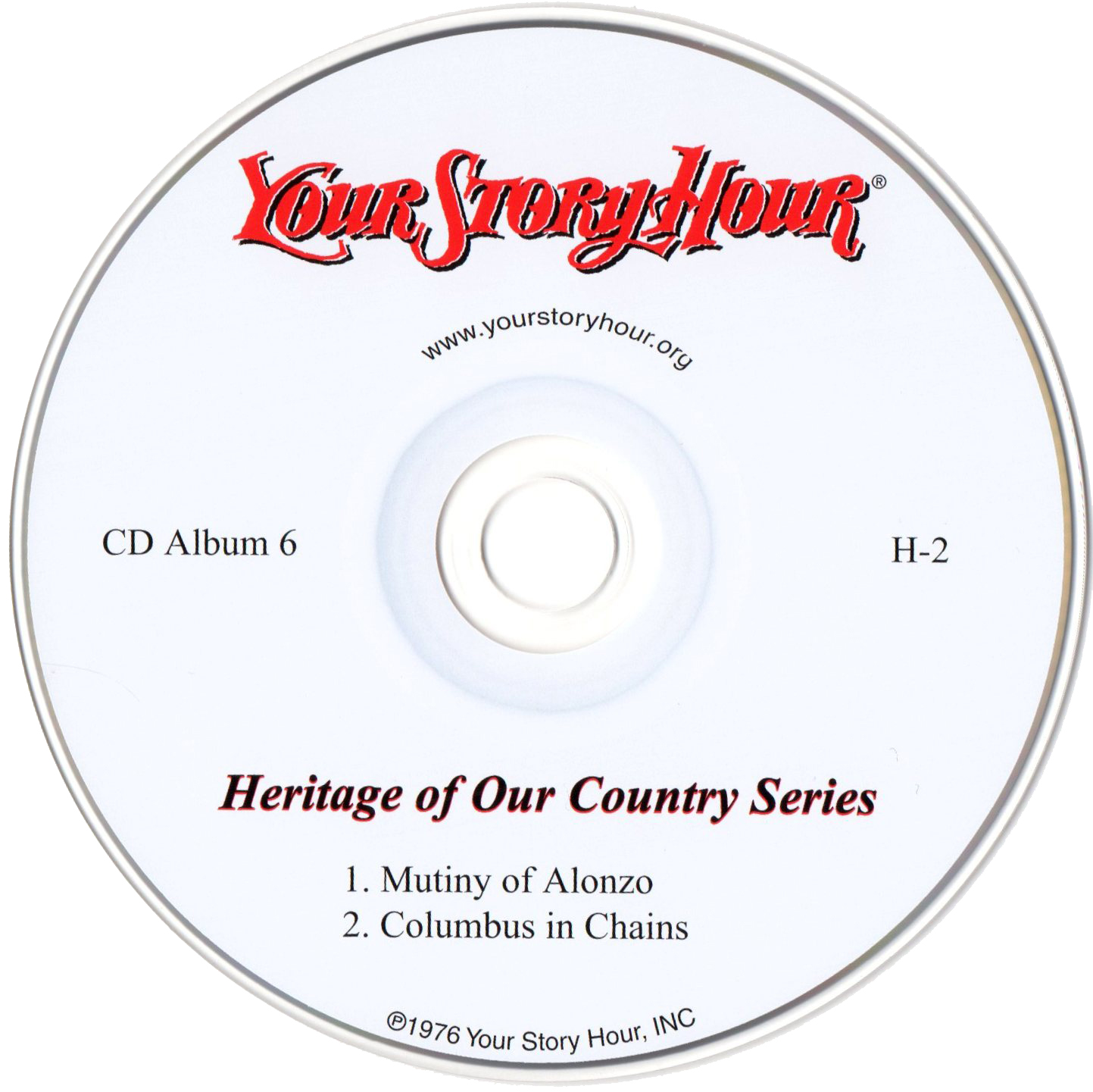 Your Story Hour (H2) CD