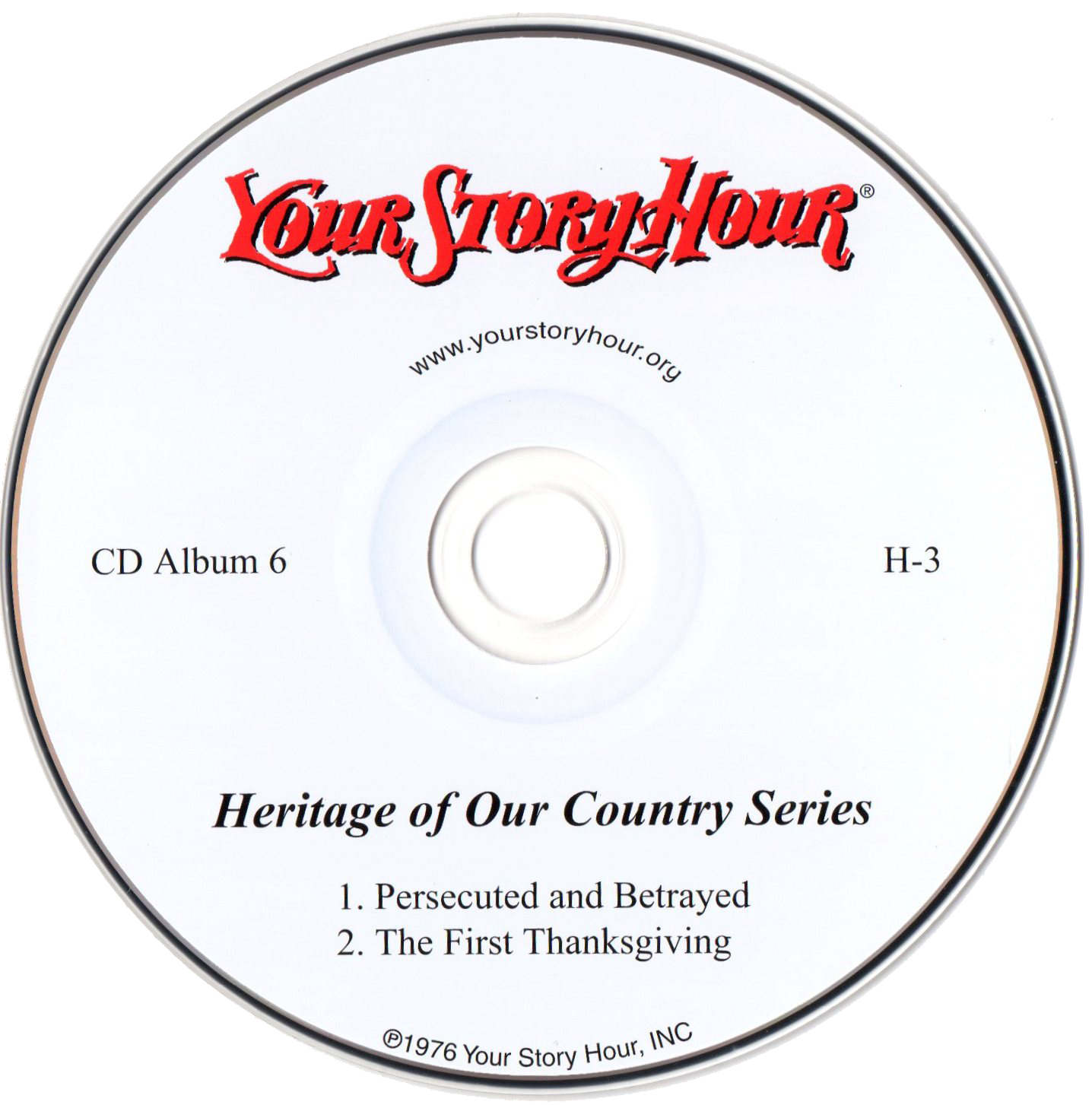 Your Story Hour (H3) CD