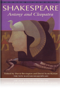 Antony And Cleopatra Shakespeare Book Cover