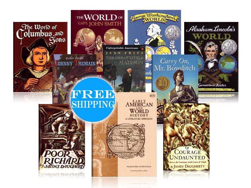 Early American and World History Jr. High Pack