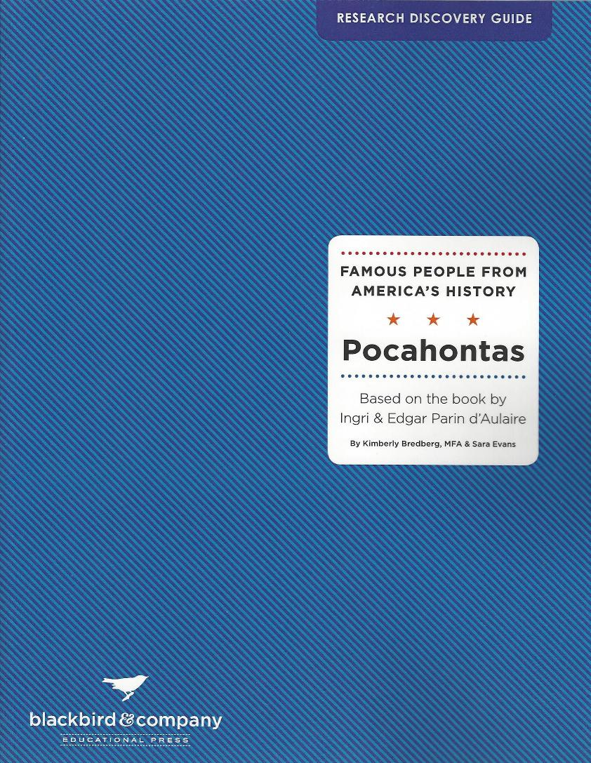 Research Discovery Guide: Pocahontas