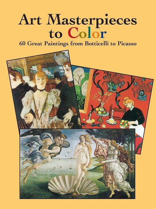 Art Masterpieces to Color Botticelli to Picasso by Marty Noble.jpg