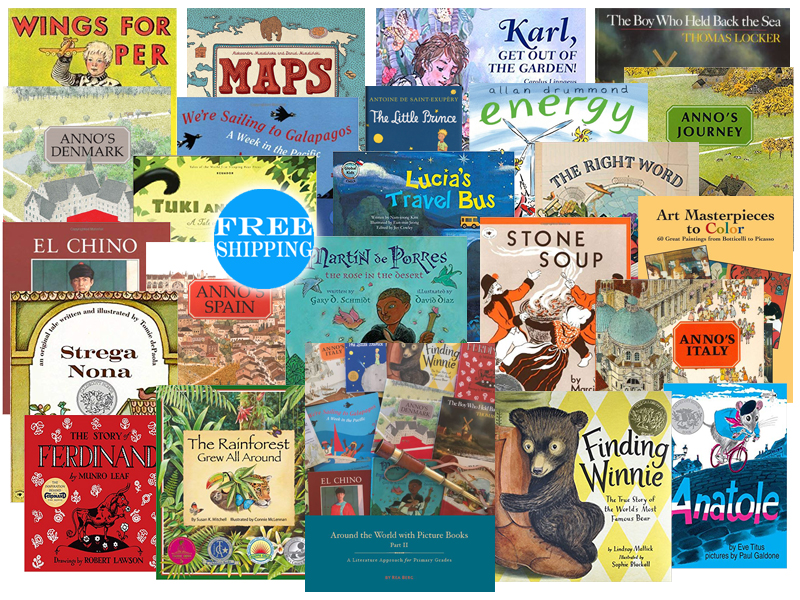 Around the World with Picture Books Pack Part II