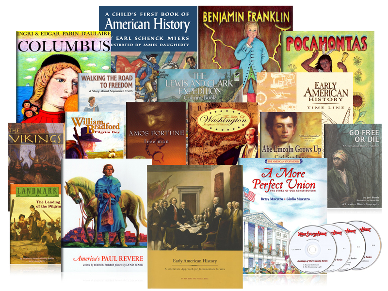 Early American History Intermediate Jumbo Pack - Beautfiul Feet Books.jpg