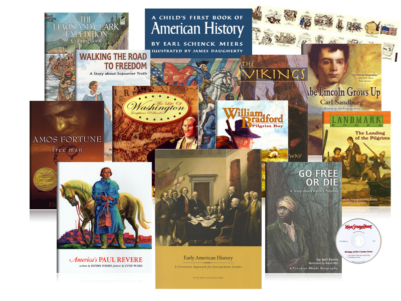 Early American History Intermediate Comp Pack - Beautfiul Feet Books.jpg