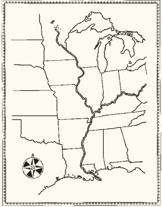 Geography Map: Minn of the Mississippi